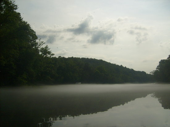 Heber Springs, AR: River View from Boat
