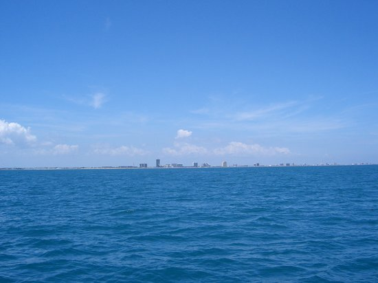 Isla del Padre Sur, TX: SPI at a distance