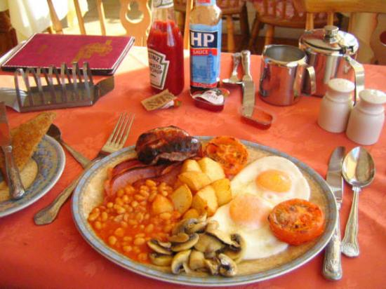 The Full English Breakfast! From Review: Cozy and Friendly.