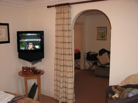 Feversham Arms Hotel & Verbena Spa: One of the TV's