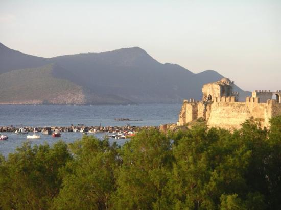 Methoni, Greece: View from our room balcony