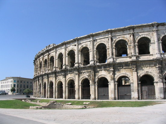 Nimes, : L&#39;Anfiteatro