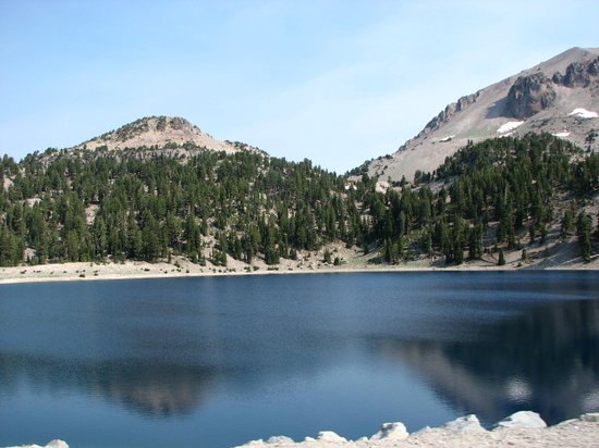 Lassen Volcanic National Park, Καλιφόρνια: Mirror Lake