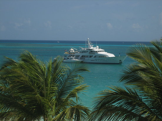 Turks dan Caicos: The Yacht