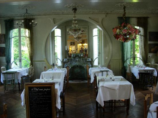 Eu, Frankrike: part of dining room