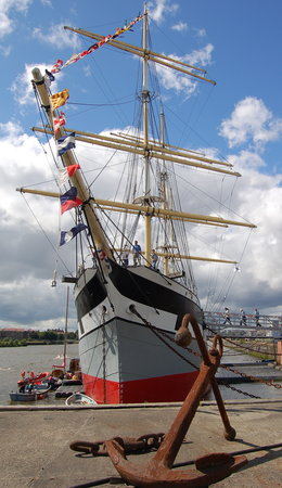 Glasgow, UK: the tall ship, the glenlee