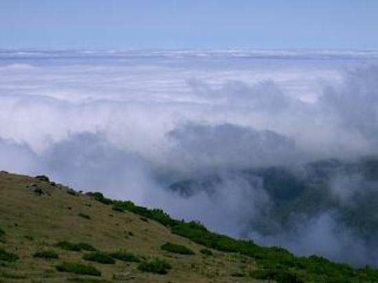 Hotel Baia Azul: Above the clouds at Pedras (1,512mt)