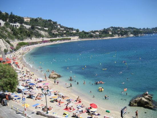 Villefranche-sur-Mer, France: the beach