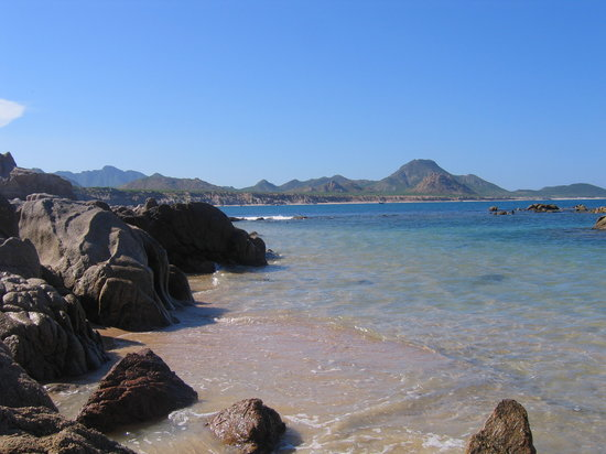 Cabo Pulmo, Mexiko: la spiaggia