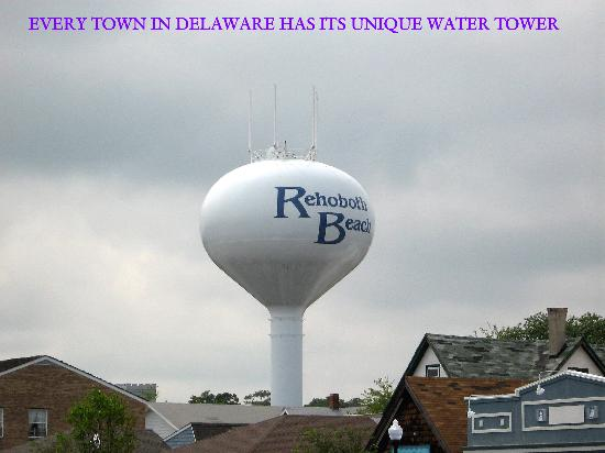 Holiday Inn Express Rehoboth Beach: The Water Tower Always Greets In Rehoboth!