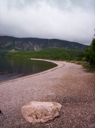 Along the shore of Loch Ness