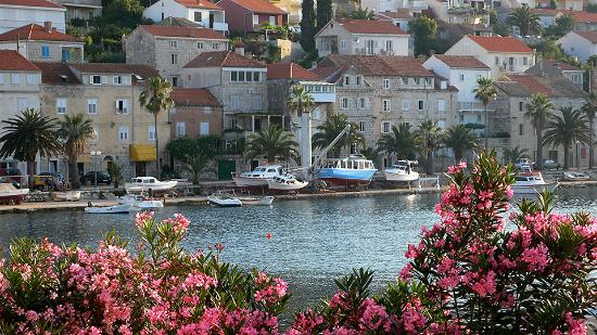 Korcula Island, Croatie : city center