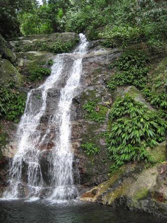 La Ceiba, Honduras: Falls in the jungle Rio Cangrejal