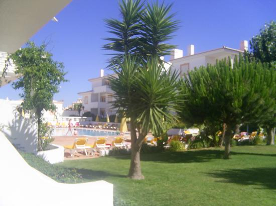 Vilabranca Apartments: Look out from balcony - small pool