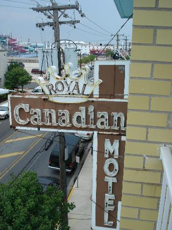Royal Canadian Resort Motel: motel