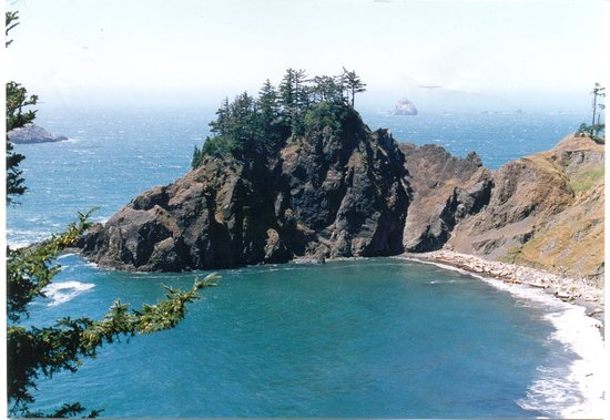 Орегон: Oregon - along the route 101