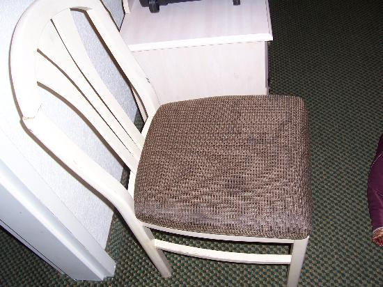 Super 8 Southaven: Chair stains 1
