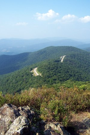 Luray, VA: View from hike Little Stoney Man