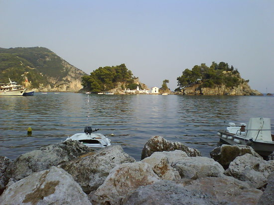 parga, panagia island
