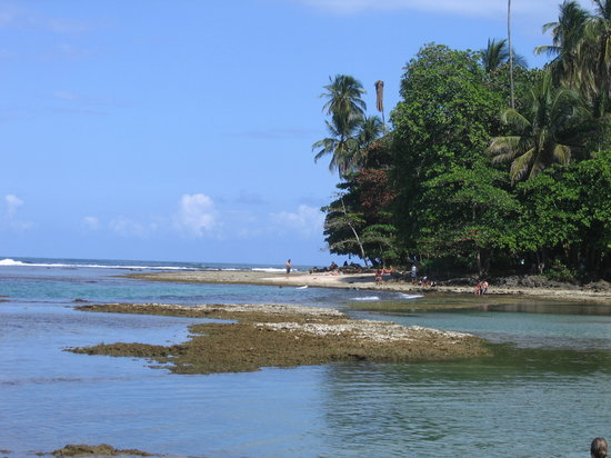 -, -: Beach at Puerto Viejo