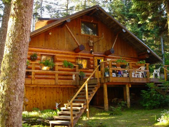 Afognak Wilderness Lodge: main house