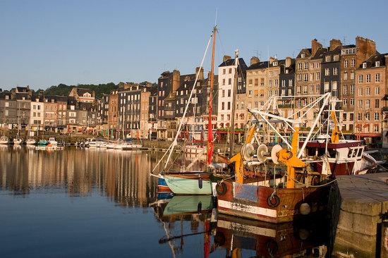 Honfleur - Inner Harbour