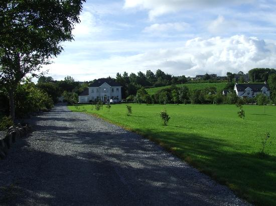Glin, Irlandia: Barker House B&B and grounds