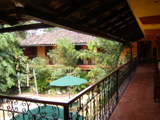 Hotel Posada Cuetzalan: Patio from the top floor