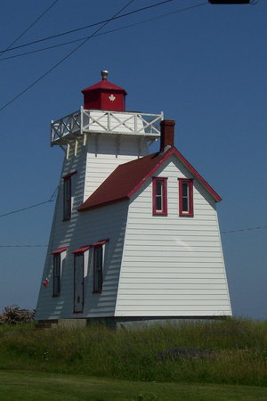 Cavendish, Canada: Lighthouse at Rustico Harbour