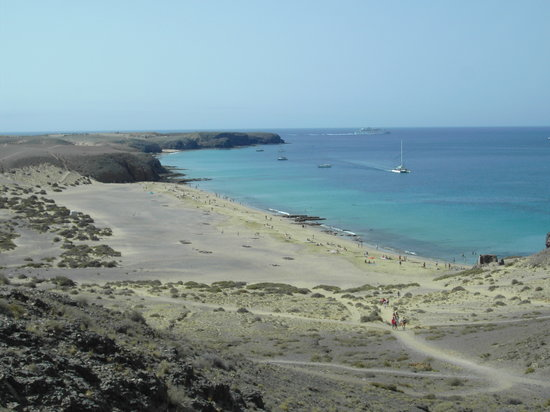 Playa Blanca, Spain: cala papagayo