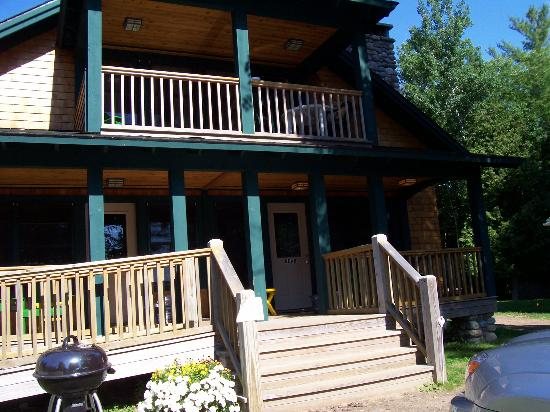 Prospect Point Cottages - Blue Mountain Lake: the Lodge- it's 3 cottages in one