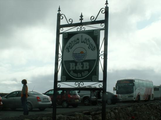 Pairc Lodge B & B: Road Sign