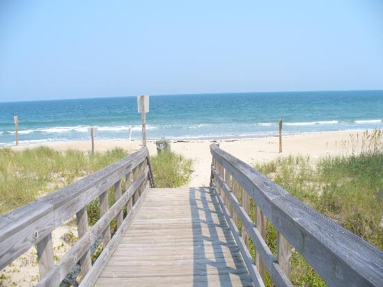 Kure Beach, Carolina del Nord: many public access points.