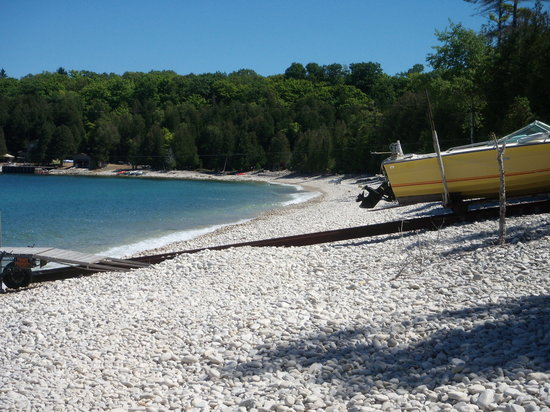 Washington Island, WI: Rock Beach, Washington Is, WI