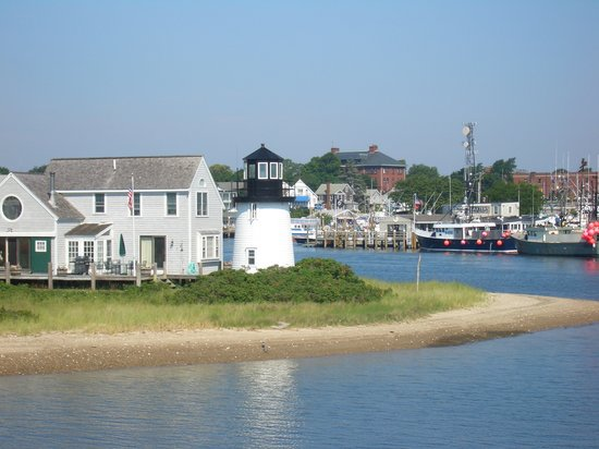Anchor In Hotel: Hyannis harbor, veiwed from the ferry