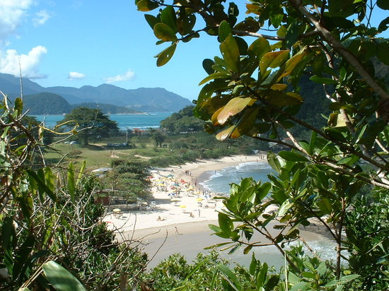 Pousada do Corsario: Beach near Paraty