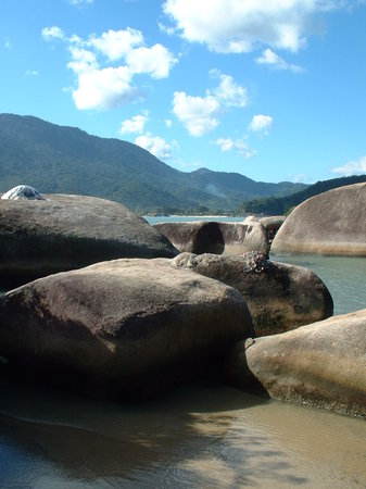 Pousada do Corsario: Other beach near Paraty