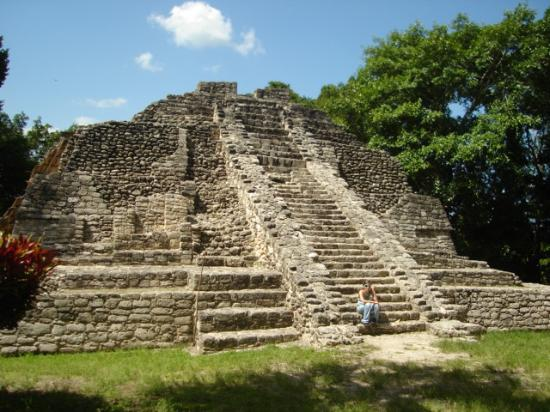 Impressive Mayan Ruins At Chacobben Picture Of Costa
