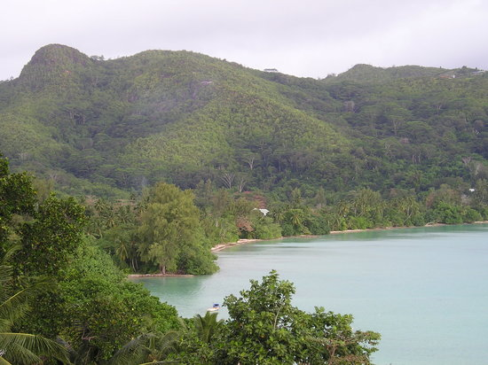 Victoria, Seychelles: View from room balcony