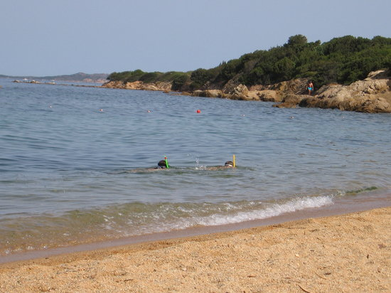Baia Sardinia, Italy: Private Beach
