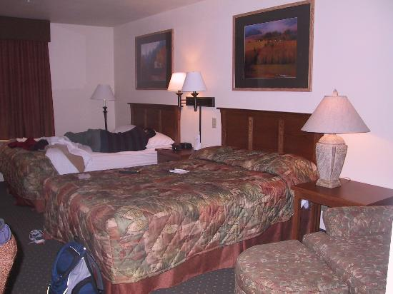Holiday Inn Express Deadwood: the smelly room, husband tired from all the hassle