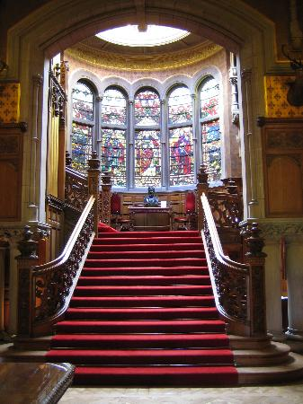 The Carnegie Club at Skibo Castle: The Main Stairs
