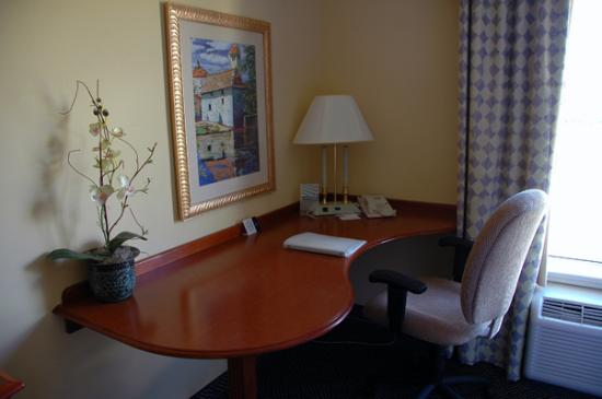 Hampton Inn Logan: Business corner