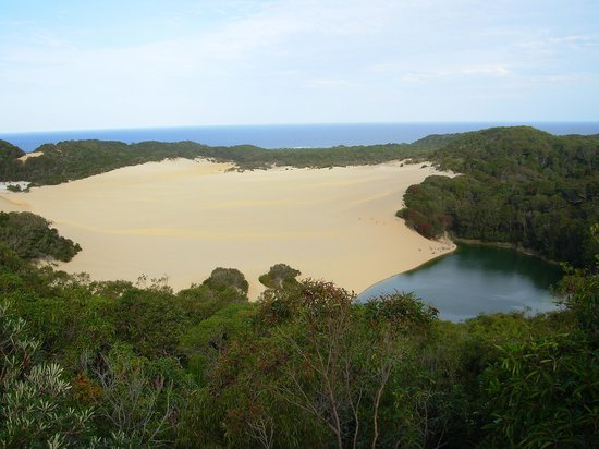 Sevrdigheder i Fraser Island