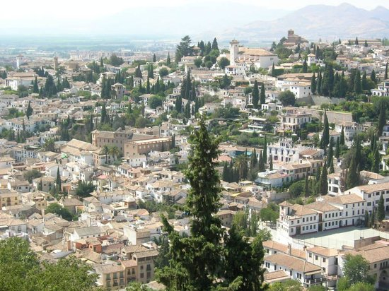 Granada, Spanien: L&#39;Albaicyn