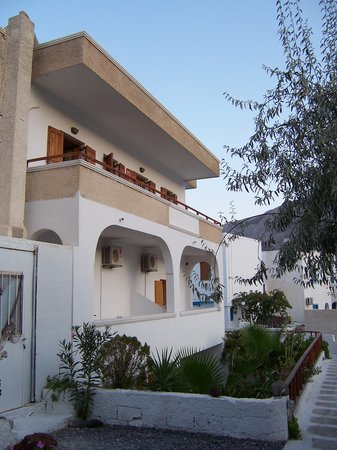 Sideris Sunflower Villa: View of our apartment - top left at the back