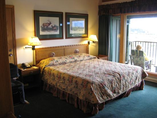 Jackson Lake Lodge: King bed