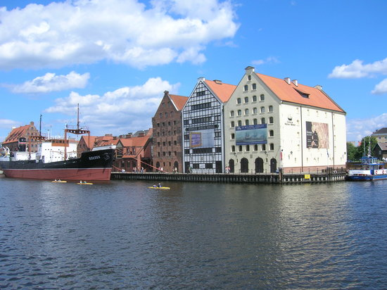 Dantzig, Pologne : Gdansk Centre 