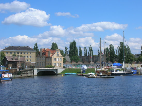 Dantzig, Pologne : Gdnask Harbour 