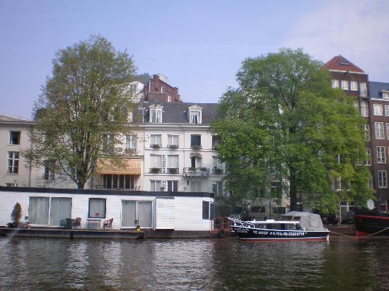 Hotel Eureka the view from canal boat Picture of
